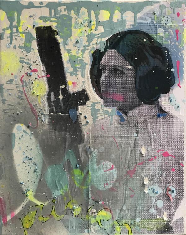 Princess Leia by Tina Psoinos