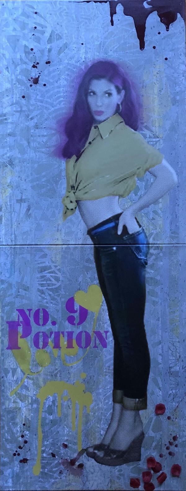 Sandra Love Potion Yellow by Tina Psoinos