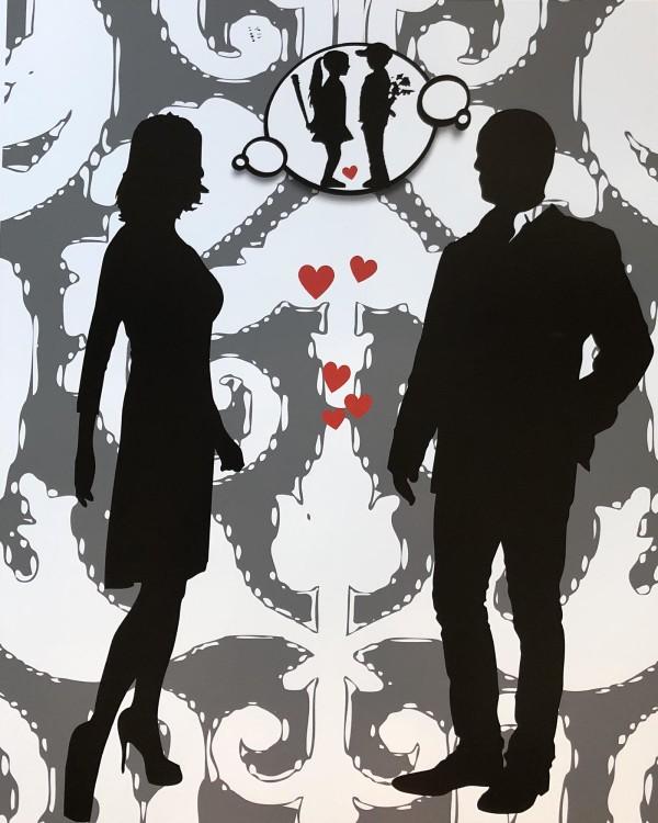 Dream of Banksy Boy Meets Girl by Tina Psoinos