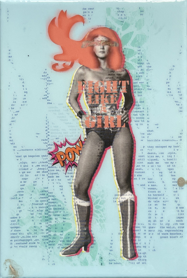 Wonder Woman 12x8 by Tina Psoinos