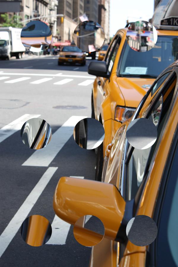 Yellow Cabs by Tina Psoinos
