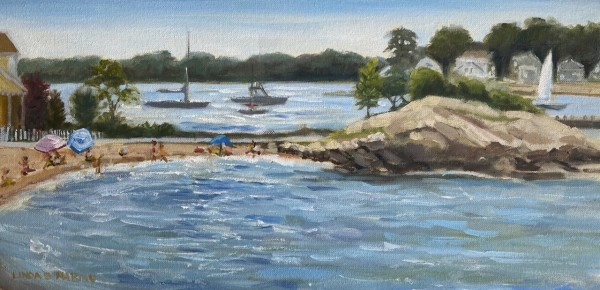 Branford Blue Waters, Branford Point, CT by Linda S. Marino