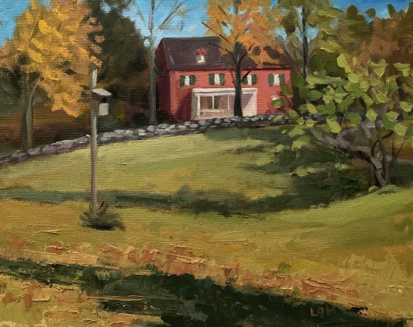Through the Field, Weir Farm, Wilton, CT by Linda S. Marino
