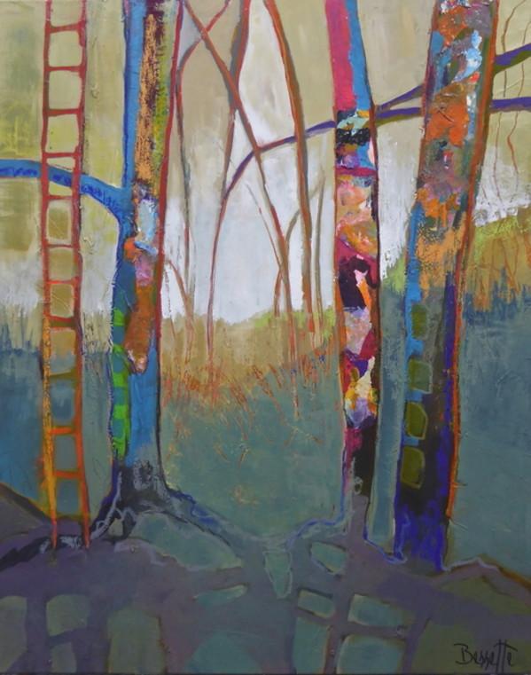 Tree House by Jeanne Bessette