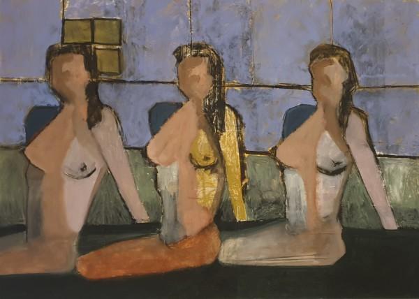 Three Woman by Hagit