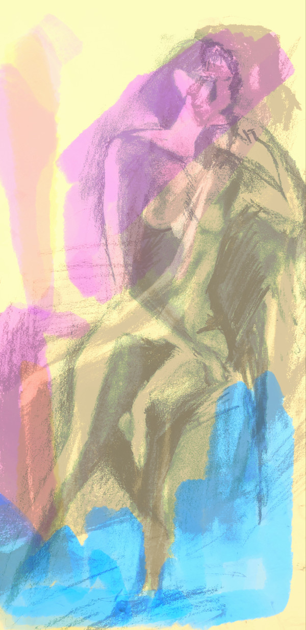 Nude Collage 4 by Hagit