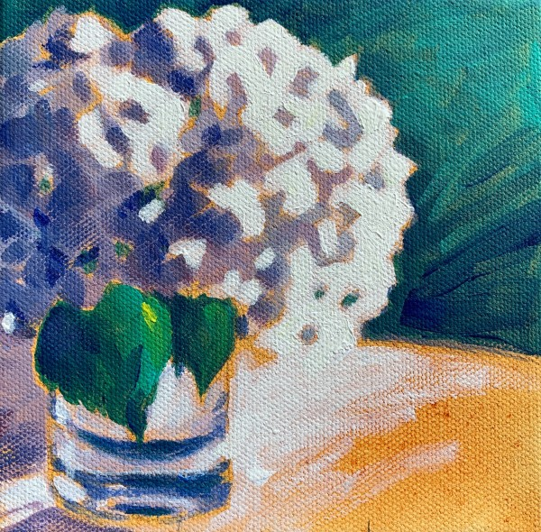 Hydrangea series: Leaves by Marcia Hoeck