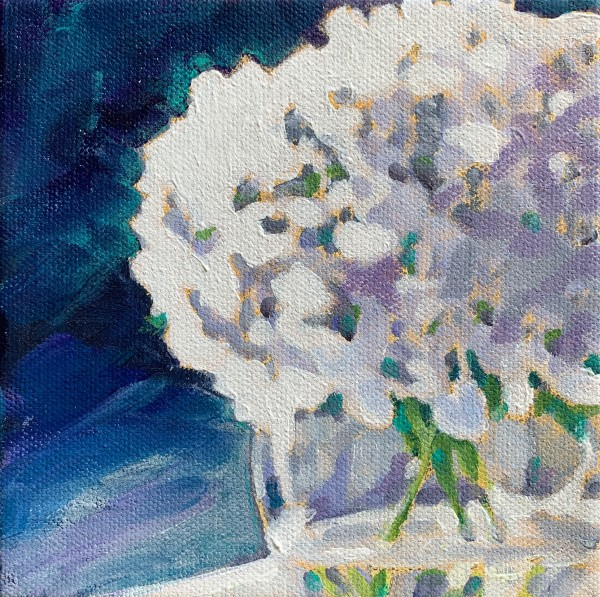 Hydrangea series: Lilac by Marcia Hoeck