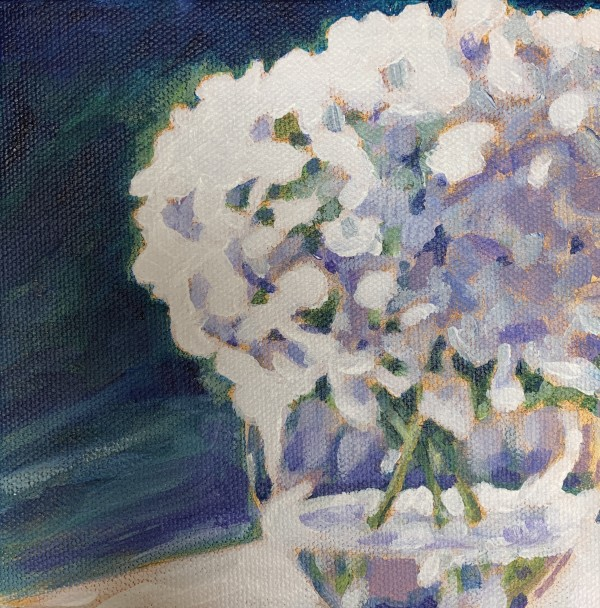 Hydrangea series: Lilac too by Marcia Hoeck