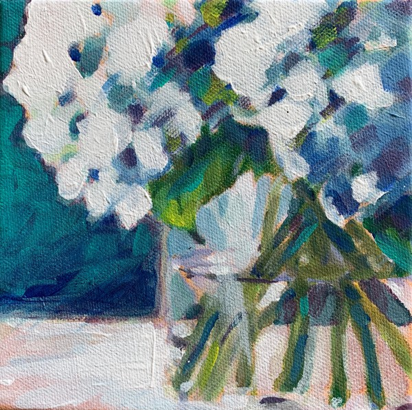 Hydrangea series: Stems by Marcia Hoeck