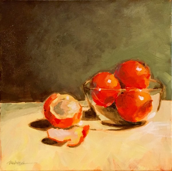Oranges one by Marcia Hoeck