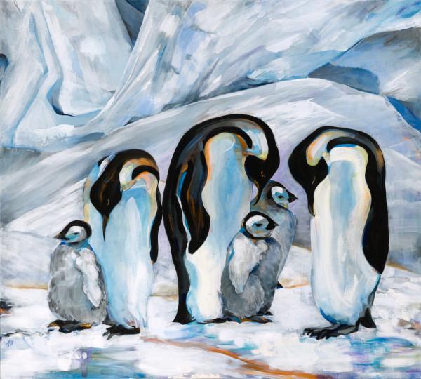 Penguins by Anna Iris Graham