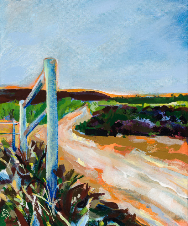 Remember Where You Are--Tijuana Estuary Trail by Anna Iris Graham