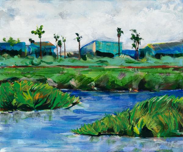 Remember Where You Are--Toward the South at Tijuana Estuary by Anna Iris Graham