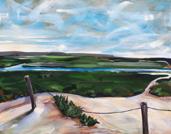 Remember Where You Are (Tijuana Estuary) by Anna Iris Graham