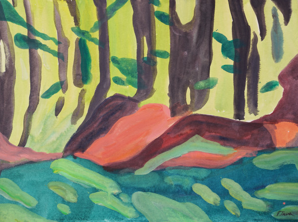 Maine Morning Logs by PATRICIA TEWES