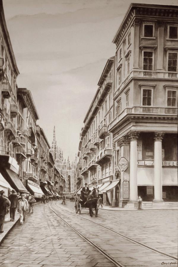 Corso Vittorio Emanuel 1900s by Carol L. Acedo
