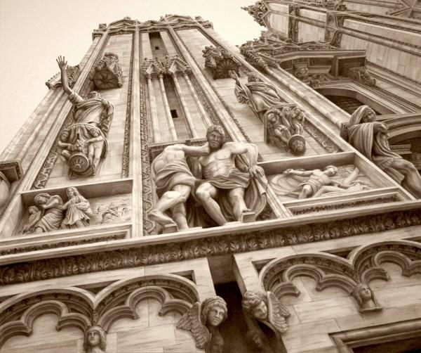 Duomo Cathedral, Milan Italy by Carol L. Acedo
