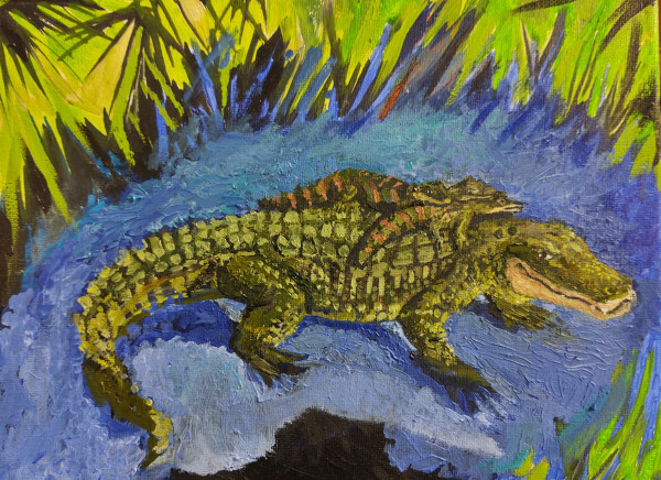 Even Alligators have parents...doesn't stop them from biting. by Debi Slowey-Raguso
