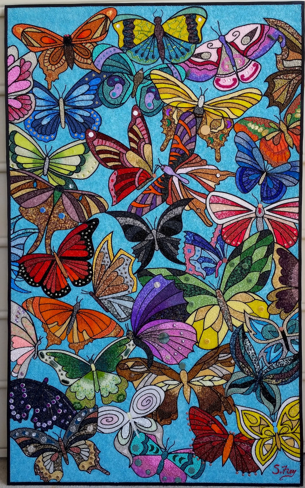 Butterfly Explosion 01 by Sabrina Frey
