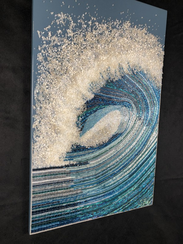 Tenacity - Bead Wave by Sabrina Frey