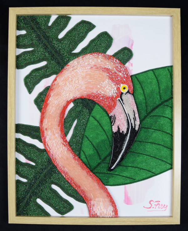 Pedro - Flamingo by Sabrina Frey