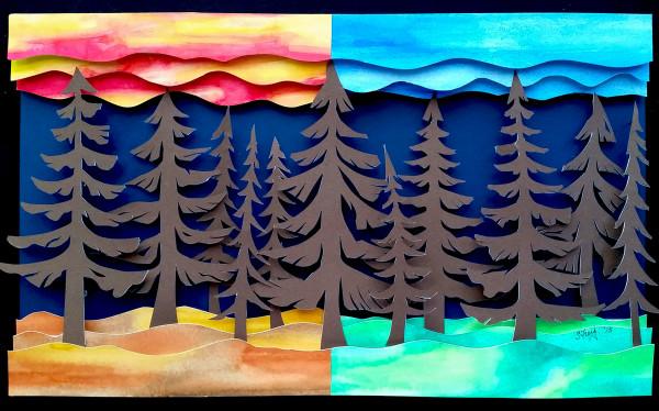 Z. Pine Forest by Sabrina Frey