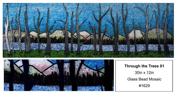 Through the trees 01 #1 by Sabrina Frey