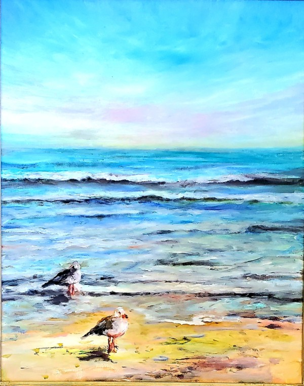 Beach Birds by Susan Bryant
