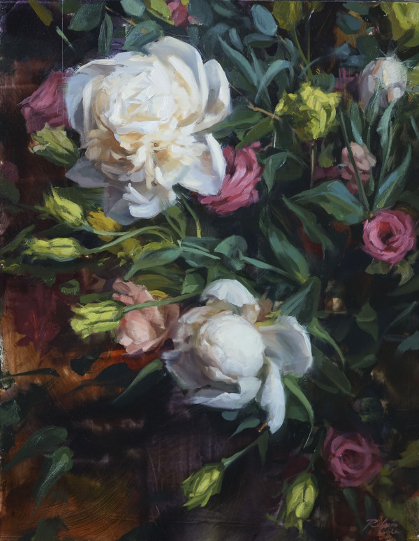Peonies by Robin Cole