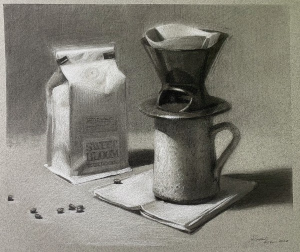 Quarantine: Coffee (framed) by Robin Cole