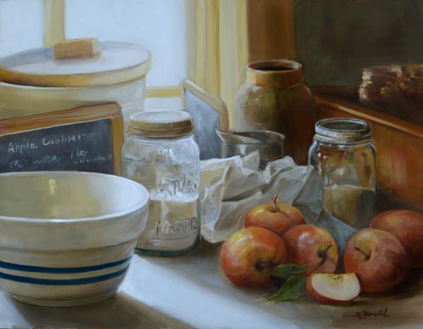 Apple Cobbler by Cynthia Feustel
