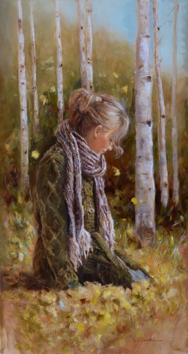 Peace Among the Aspens by Cynthia Feustel
