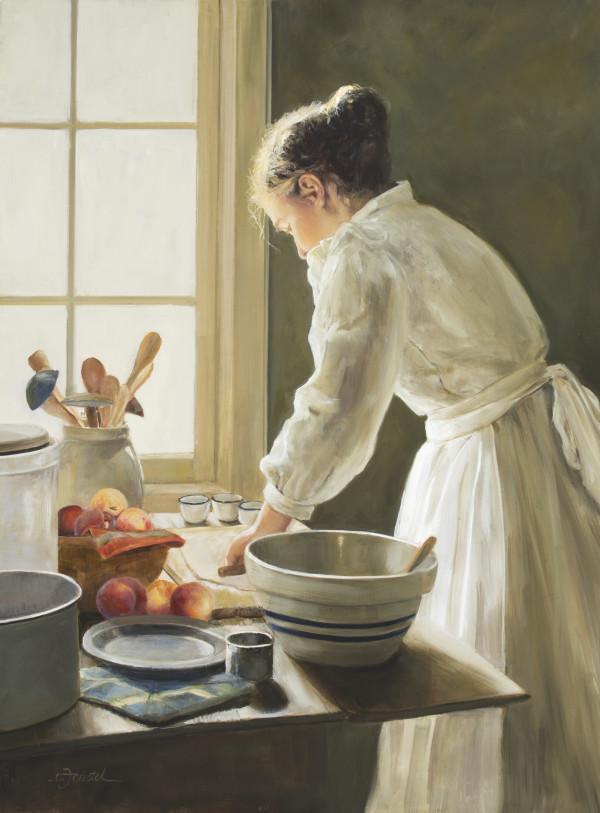 Peach Pie by Cynthia Feustel