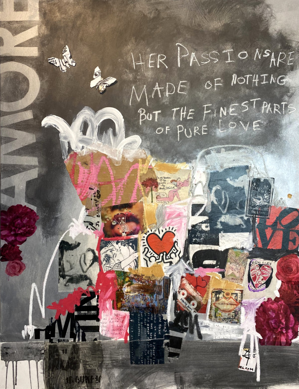 Subway Sonnet #15 | On Love (Muriel Guepin Gallery) by Susan Washington