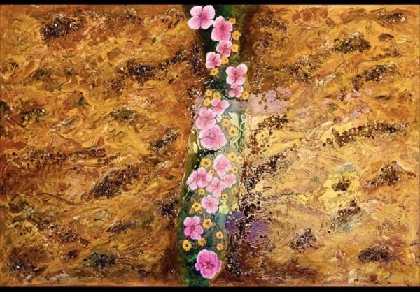 Flower Trail by Rebecca Viola Richards