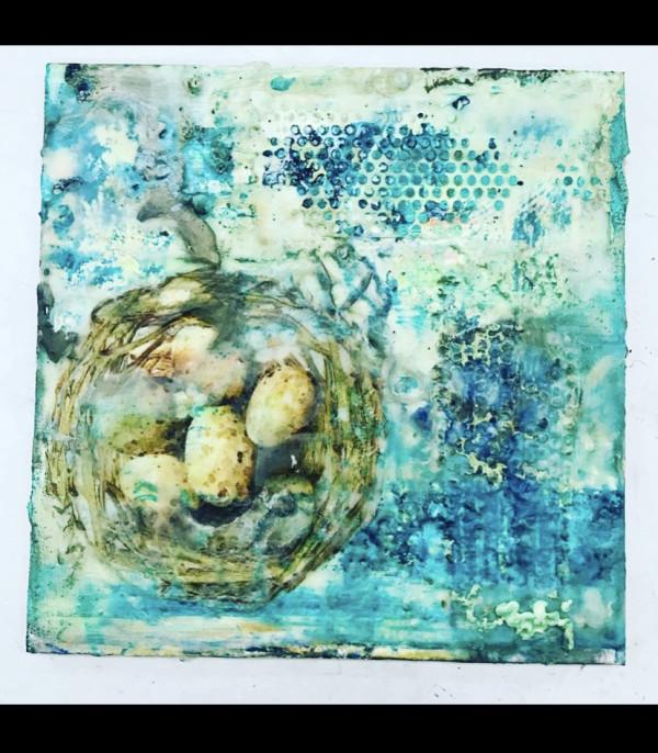 Bird Nest by Rebecca Viola Richards