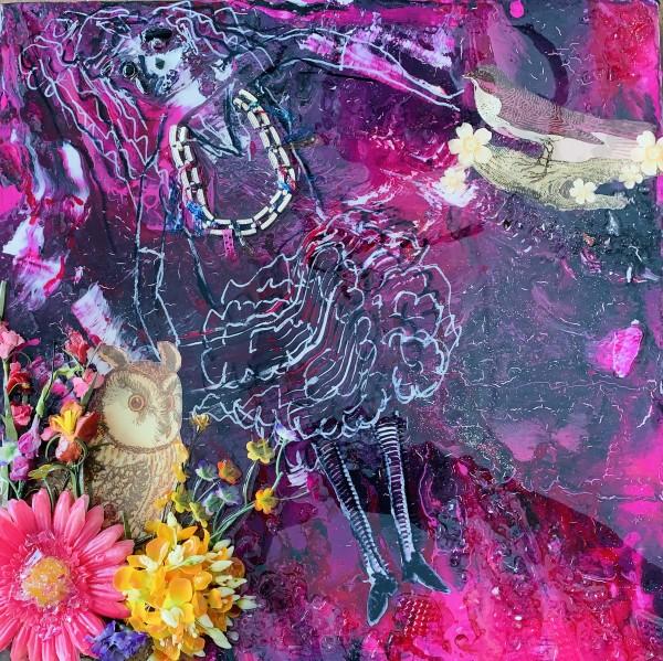 Purple Lady by Rebecca Viola Richards