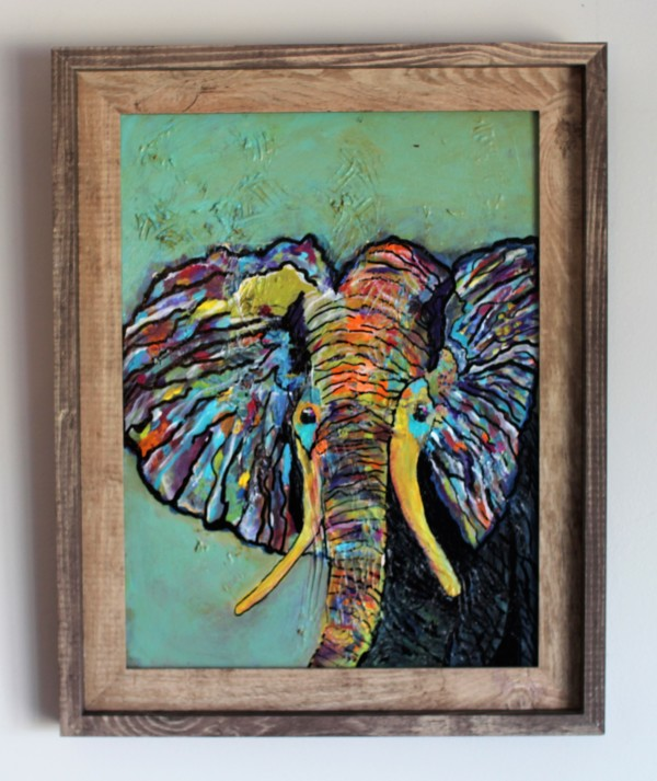 Ellie the Elephant by Rebecca Viola Richards