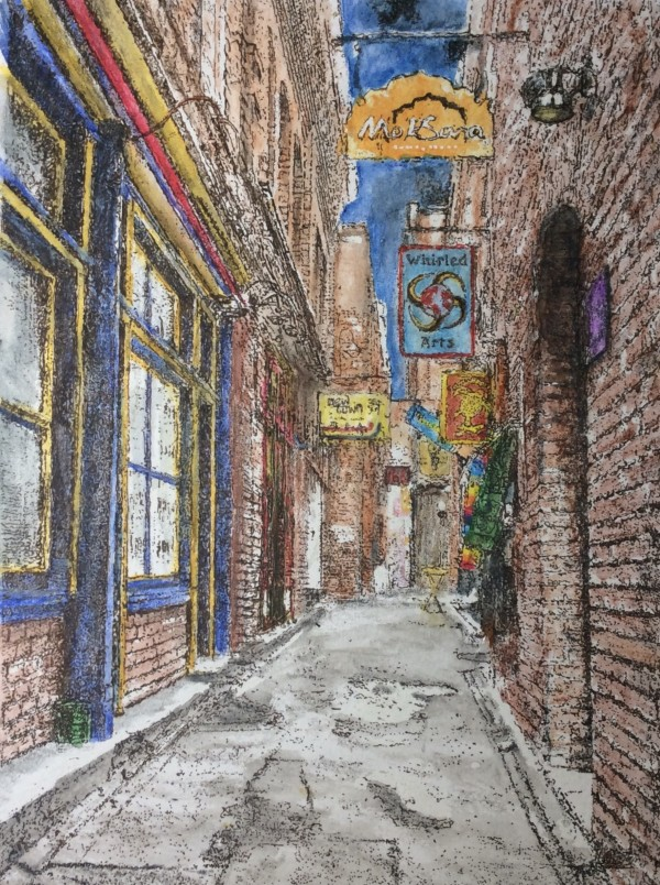 Fan Tan Alley -  Victoria BC, Vancouver Island Canada by Wanda Fraser