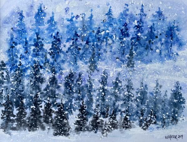 Snowy Woods by Wanda Fraser