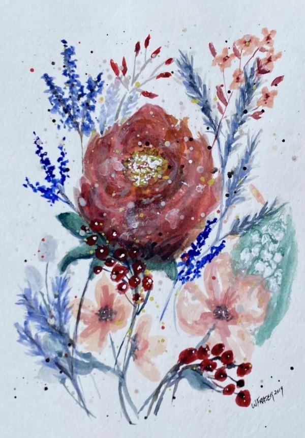 Flower Sampler by Wanda Fraser