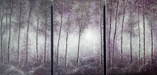 Mystical Forest by Wanda Fraser