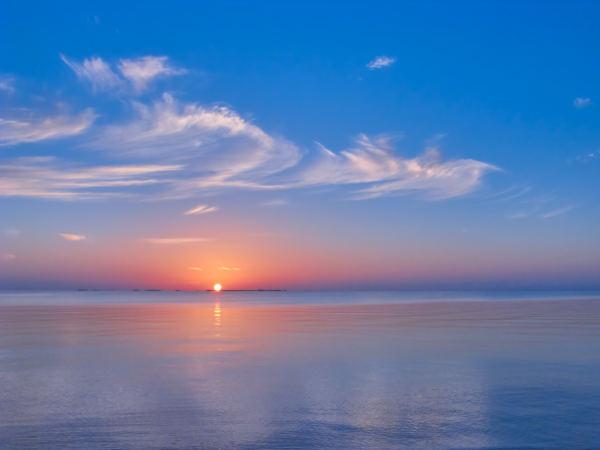 Peaceful Dawn by Kent Burkhardsmeier
