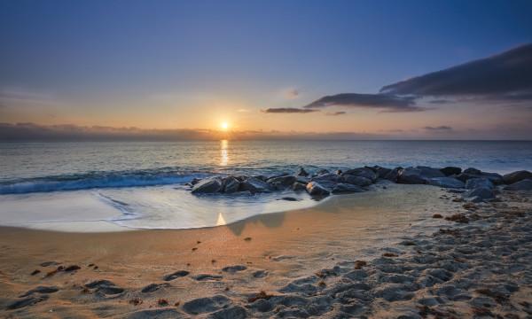 Ocean Ridge Sunrise by Kent Burkhardsmeier