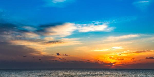 Ocean Way Sunrise #1 of 7 by Kent Burkhardsmeier