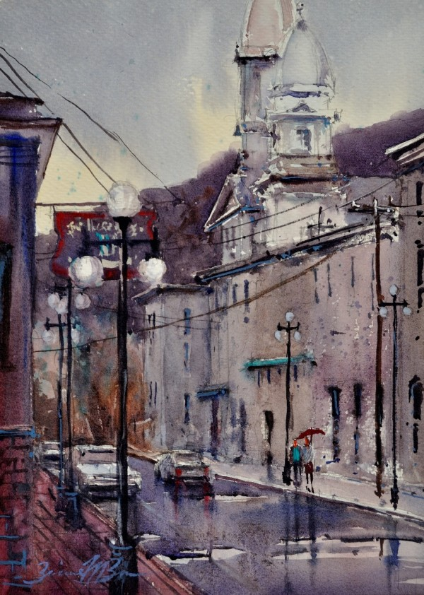 A Wet Day in Lock Haven by Brienne M Brown