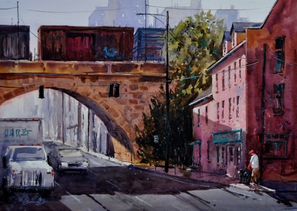 Stroll Up Front Street by Brienne M Brown