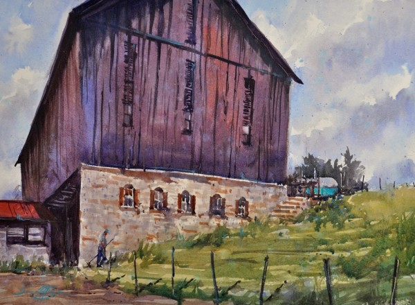 The Hodge Barn by Brienne M Brown