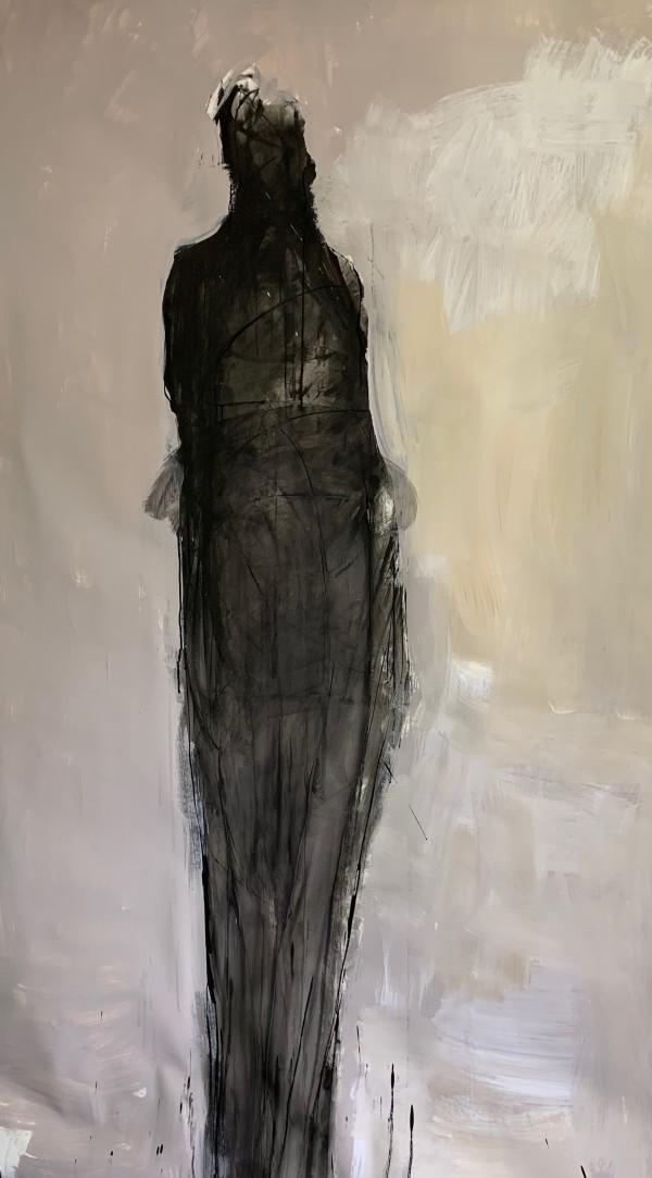 Tall Black Figure by catie radney